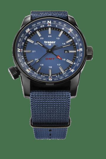 traser 109034 P68 Pathfinder GMT Blue karóra