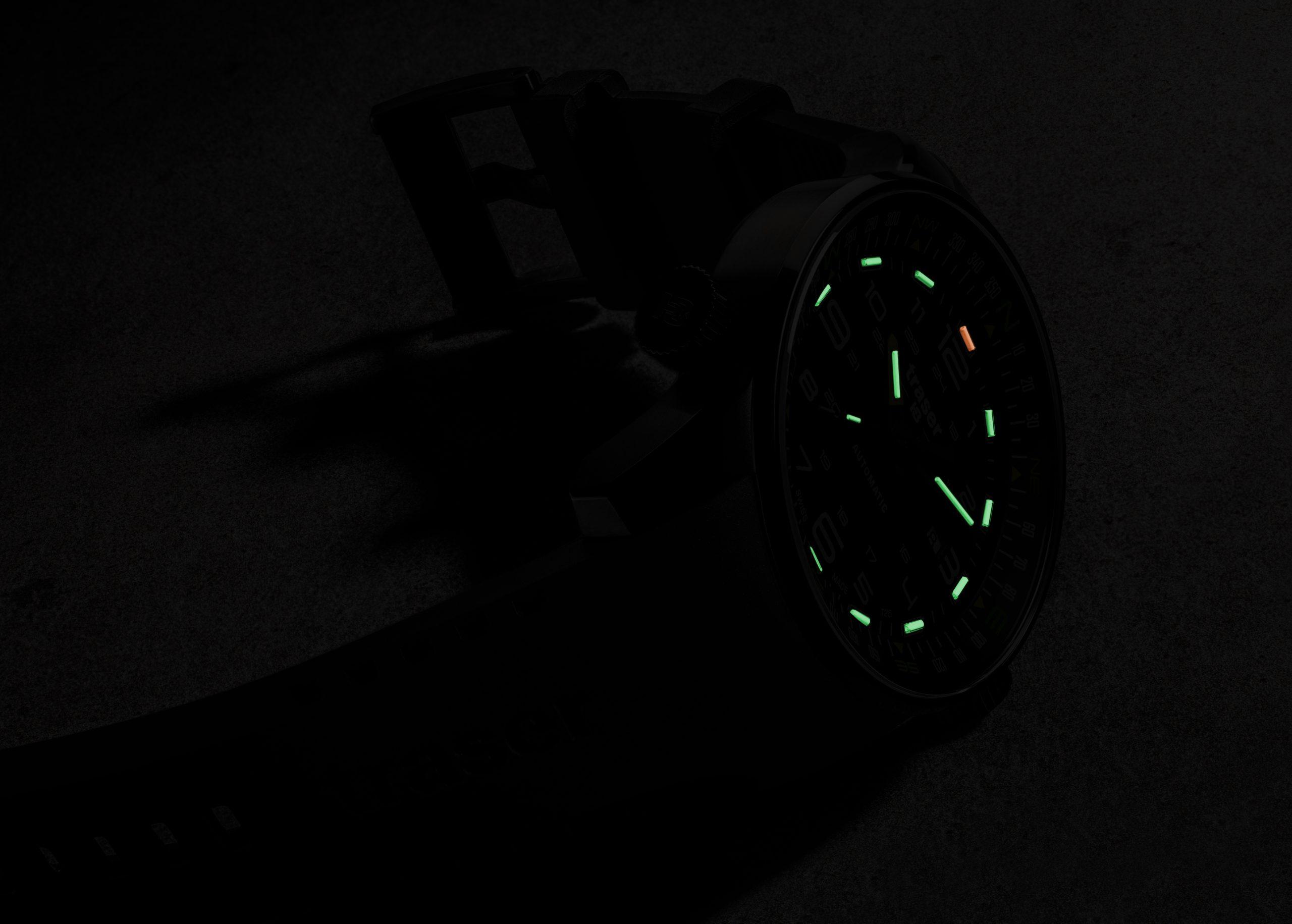 traser 109741 P68 Pathfinder Automatic Black karóra