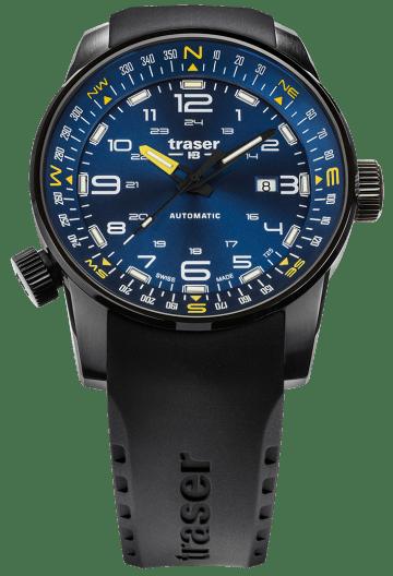 traser 109742 P68 Pathfinder Automatic Blue karóra
