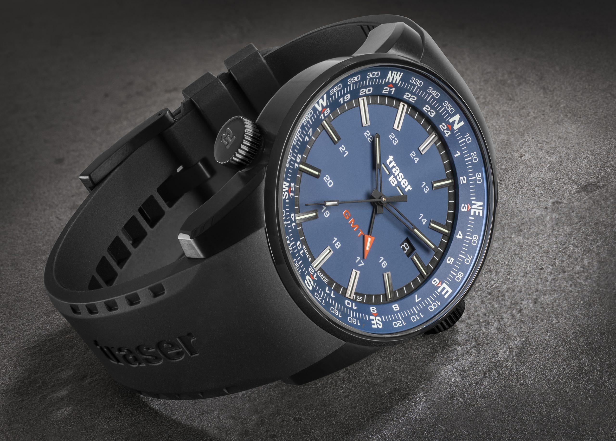 traser 109743 P68 Pathfinder GMT Blue karóra