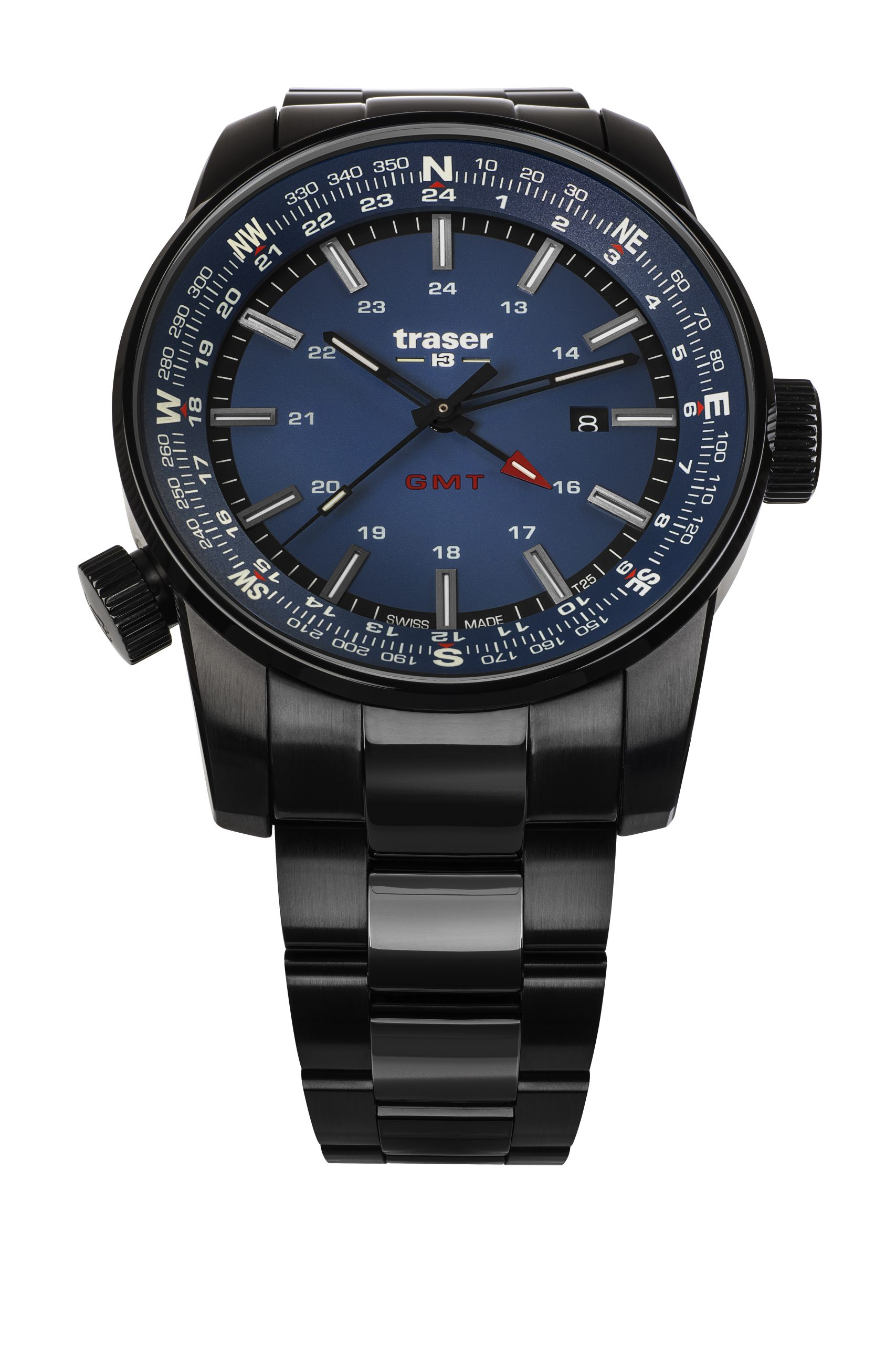 traser 109524 P68 Pathfinder GMT Blue karóra