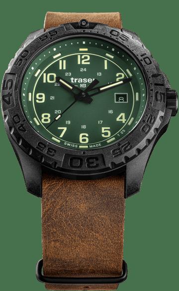 traser 109038 P96 OdP Evolution Green karóra