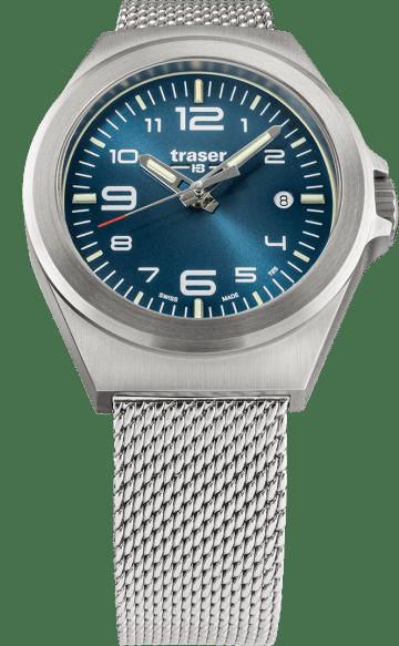 traser 108203 P59 Essential S Blue karóra