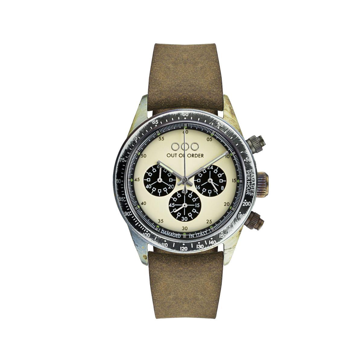 Cronografo Brown Cream