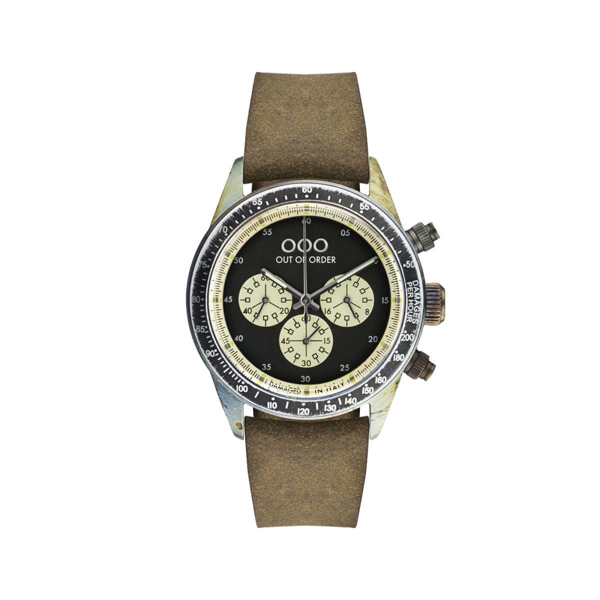 Cronografo Brown Black