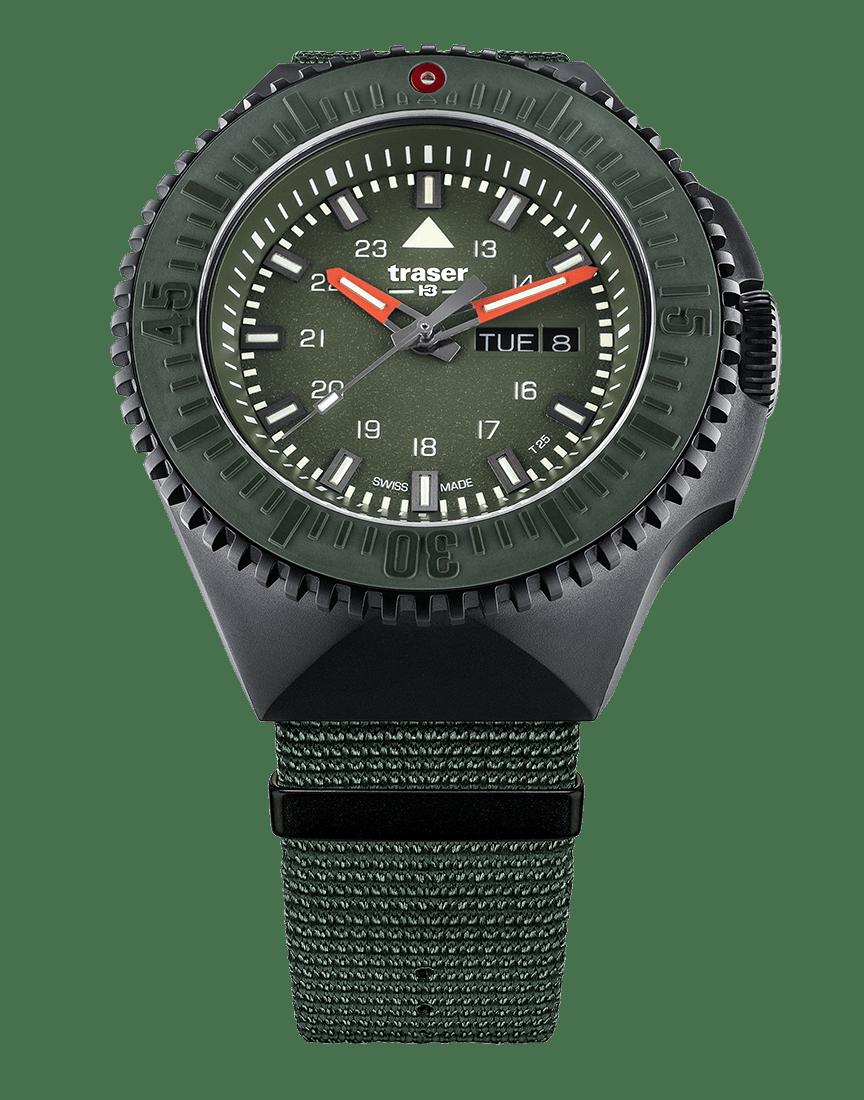 109858 P69 Black Stealth Green