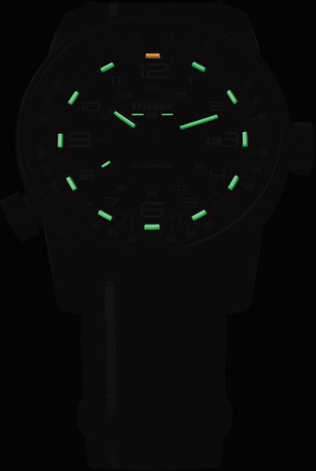 traser 107718 P68 Pathfinder Automatic Black karóra